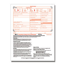 ComplyRight W 3 InkjetLaser Tax Forms