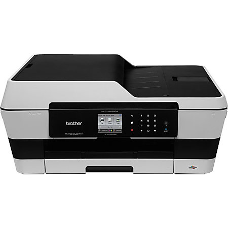 how to connect brother mfc 490cw wireless printer