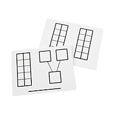Didax Dry Erase Ten Frame Mats