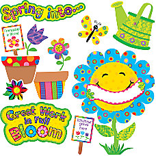 Creative Teaching Press Spring Garden Bulletin