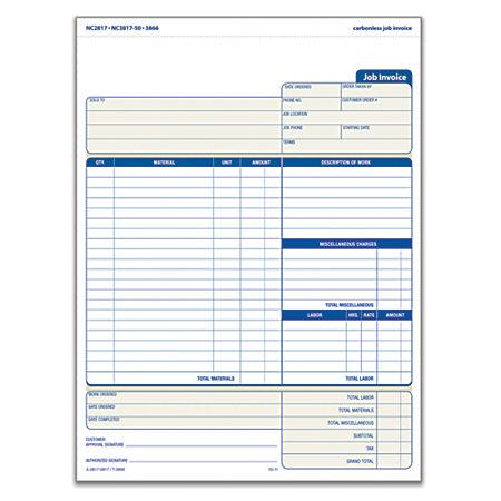 Doc10541312 Contractor Invoices Free Contractor Invoice – Contractor Invoice