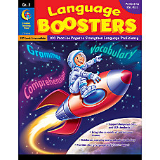 Creative Teaching Press Language Boosters Grade