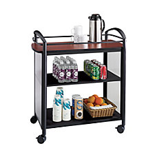 Safco Impromptu 3 Shelf Laminate Beverage