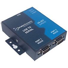 Brainboxes US 257 2 port Serial