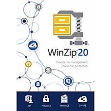 WinZip 20 Standard Download Version