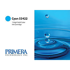 Primera 53422 Ink Cartridge Cyan