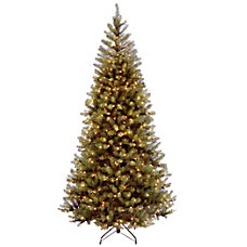 Pre Lit Aspen Spruce Tree 7