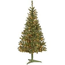 Pre Lit Canadian Grande Fir Tree