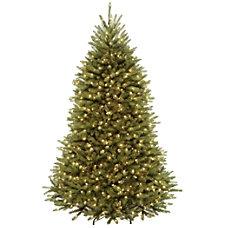 Pre Lit Dunhill Fir Tree 7H