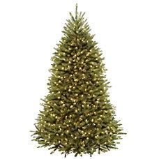 Pre Lit Dunhill Fir Tree 7