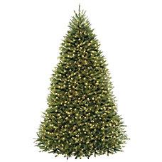 Pre Lit Dunhill Fir Tree 9H