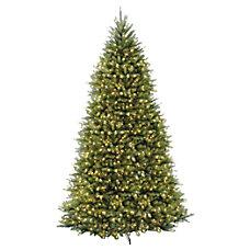 Pre Lit Dunhill Fir Tree 12H
