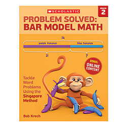 Scholastic Problem Solved Bar Model Math