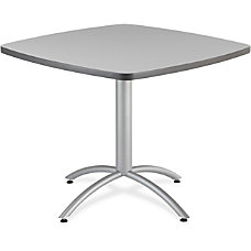 Iceberg CafeWorks Bistro Table Square Top