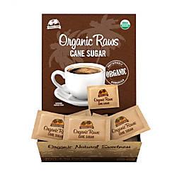 Organic Raws Cane Sugar Packets