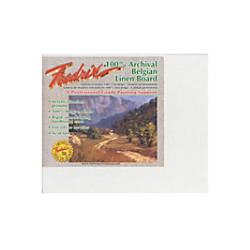Fredrix Archival Linen Canvas Board 8