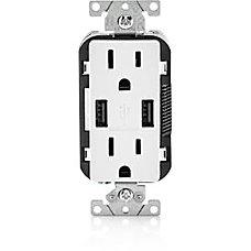 Leviton USB ChargerDuplex Receptacle