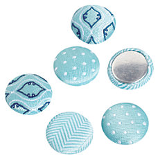 See Jane Work Magnets Fabric Blue