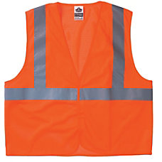 ORANGE ECONOMY VEST MESHH L