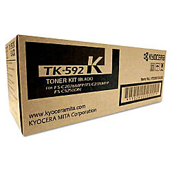 Kyocera TK 592K Original Toner Cartridge
