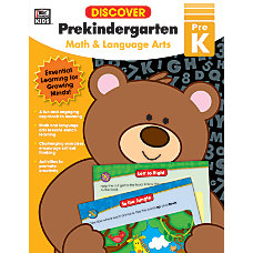 Thinking Kids Discover Workbook Pre K