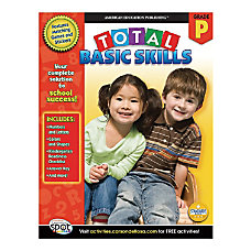 American Education Publishing Workbook Total Basic