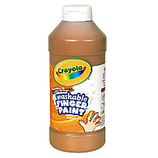Crayola Washable Finger Paint 16 Oz