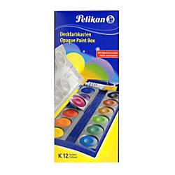 Pelikan Opaque Paint Box 12 Pans