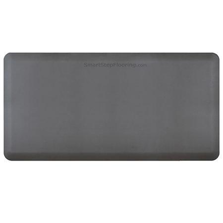 Smart Step Supreme Premium Anti Fatigue Mat 72 X 36 Gray