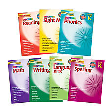 Spectrum Kindergarten Workbook Set