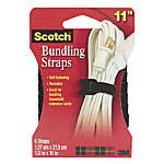 Scotch Bundling Straps Black 12 x