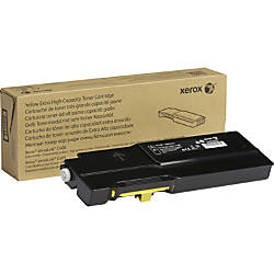 Xerox Original Toner Cartridge Yellow