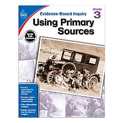 Carson Dellosa Using Primary Sources Workbook