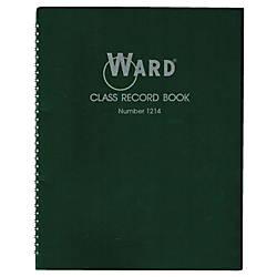 Ward 12 14 Week Class Record