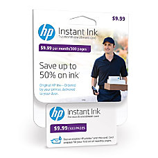 HP Instant Ink 300 Page Enrollment