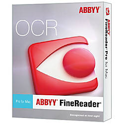 ABBYY FineReader Pro for Mac Upgrade