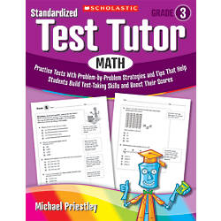 Scholastic Standardized Test Tutor Math Grade