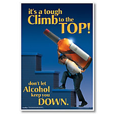 ComplyRight Substance Abuse Poster Alcohol Impairment
