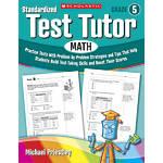 Scholastic Standardized Test Tutor Math Grade