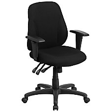 Flash Furniture Ergonomic Fabric Multifunction Task