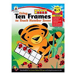Carson Dellosa Using Ten Frames To