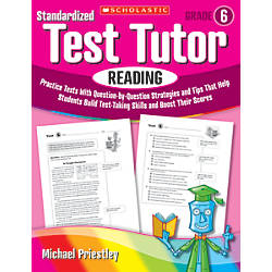Scholastic Standardized Test Tutor Reading Grade