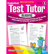 Scholastic Standardized Test Tutor Reading Grade
