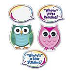 Carson Dellosa Colorful Owl Talkers Bulletin