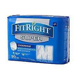 FitRight Super Protective Underwear Medium 28