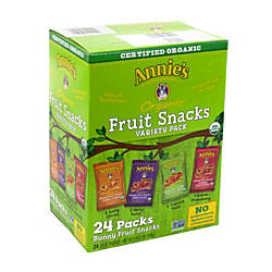 Annies Organic Fruit Snacks Variety Pack
