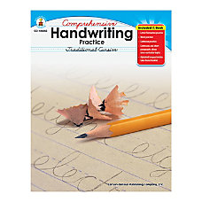 Carson Dellosa Comprehensive Handwriting Practice Traditional