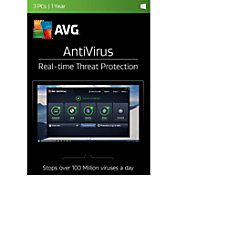 AVG AntiVirus 2017 3 Users 1