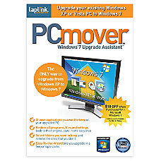 PCmover Windows 7 Upgrade Assistant Traditional