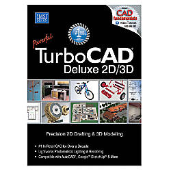 TurboCAD Deluxe 17 Traditional Disc